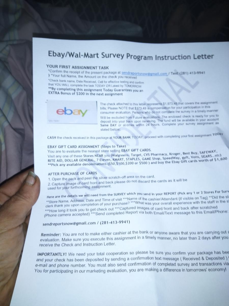 Ebay Walmart Survey Program 2020 Reports Reviews Scampulse Com